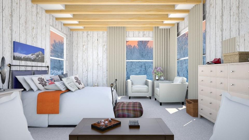 Abbey Room - Bedroom - by Karie Claudio