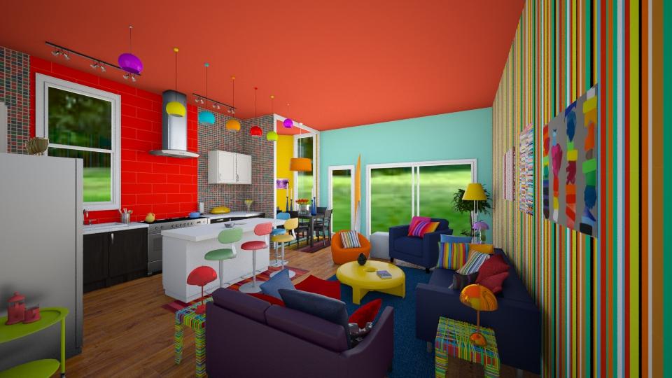 Rainbow Tiny - by Sher02