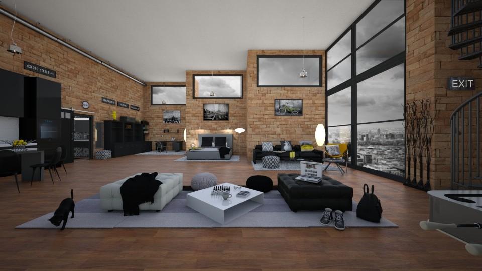Luxury student loft - by Timea Fischer