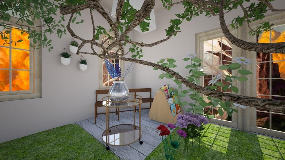 Relax in Green - Garden - by Agni Samil