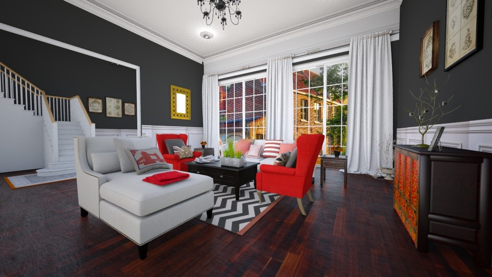 bright room entry  - Living room - by fernadia3