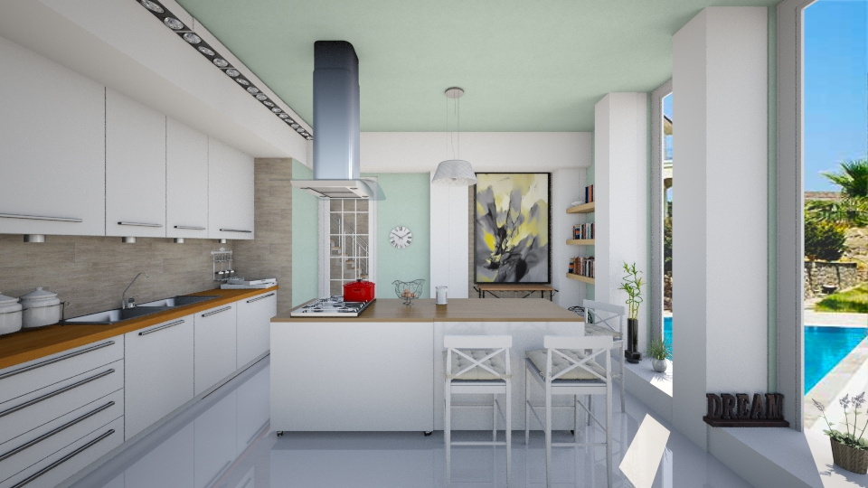 open kitchen - Kitchen - by kanatsizmelek