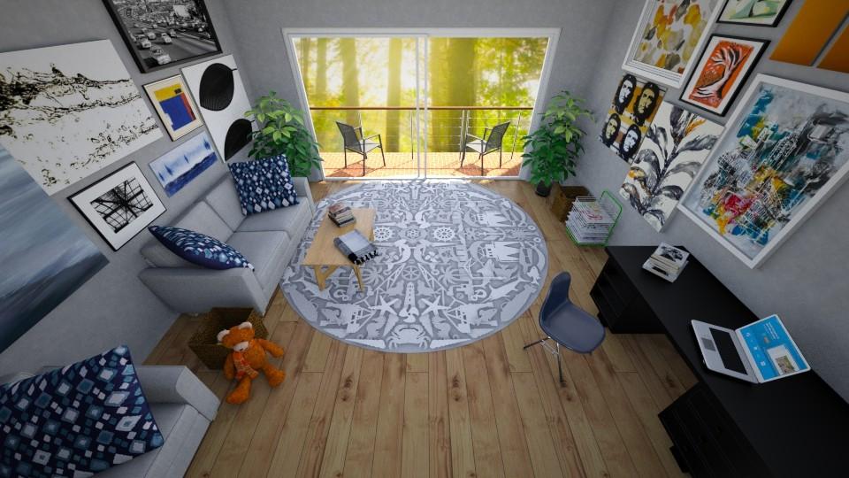 Geometric LR - Classic - Living room - by T_A_D