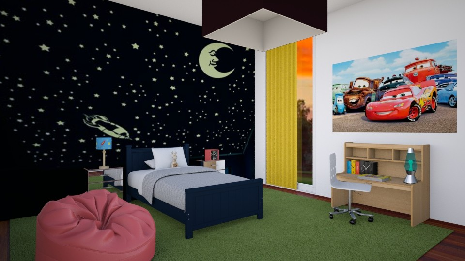 Boy Room 8year Old - Kids room - by Sophia Urcuyo