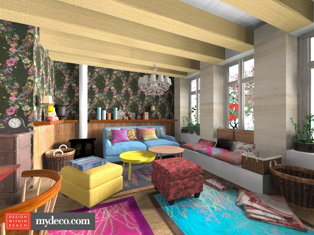 gipsy style - Living room - by macus