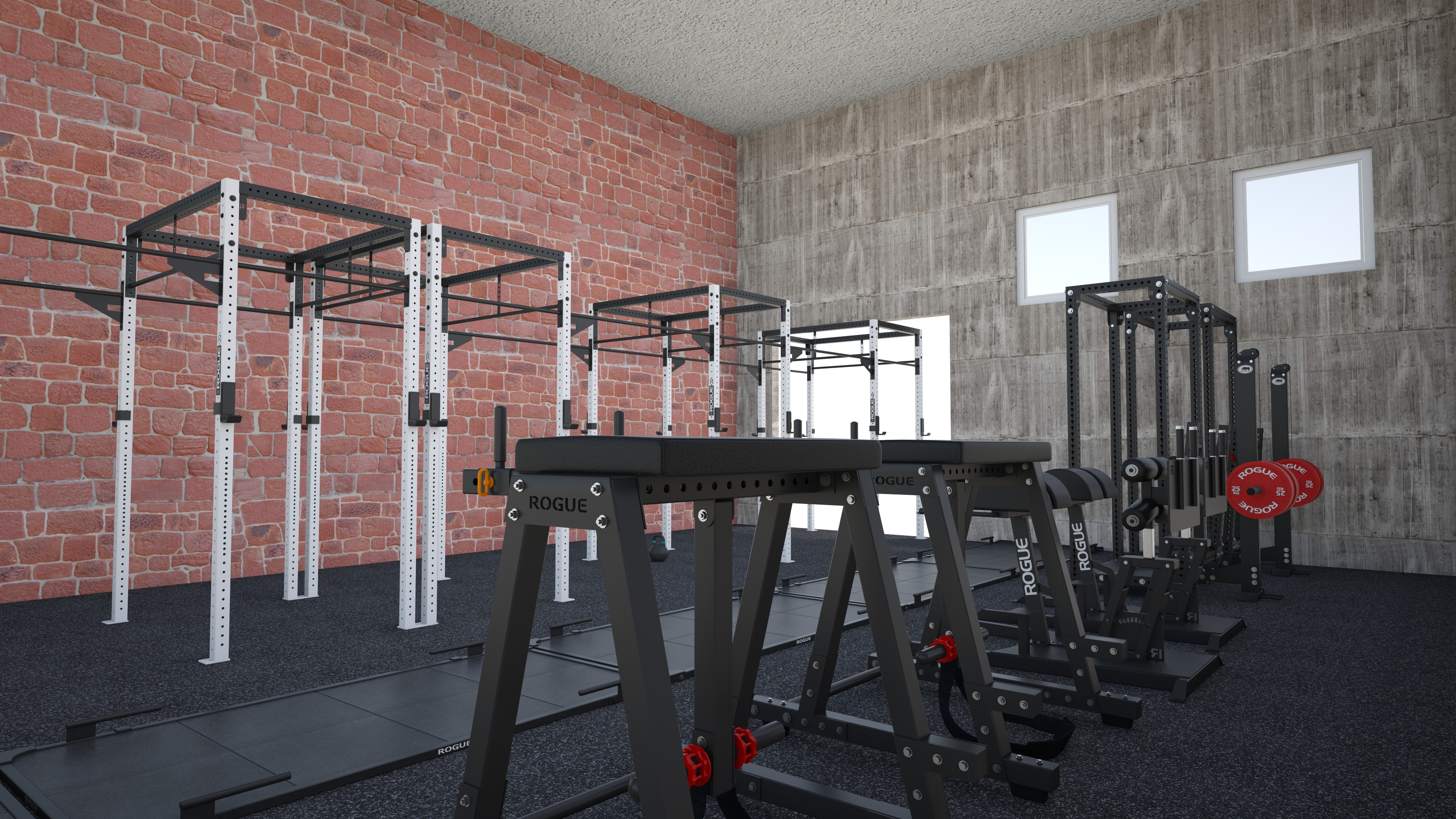 Small garage gym layout building a home gym have to be