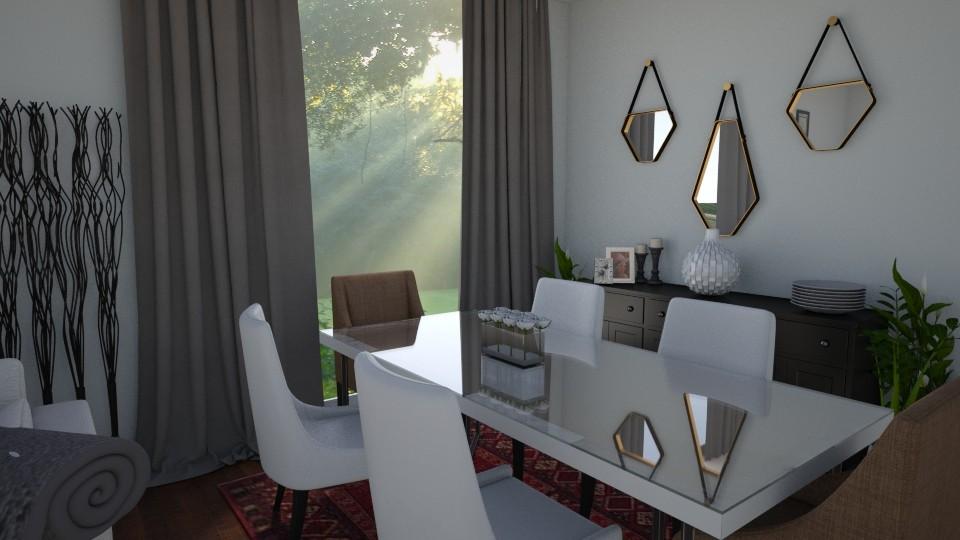 cozy dining room - Dining room - by designerm