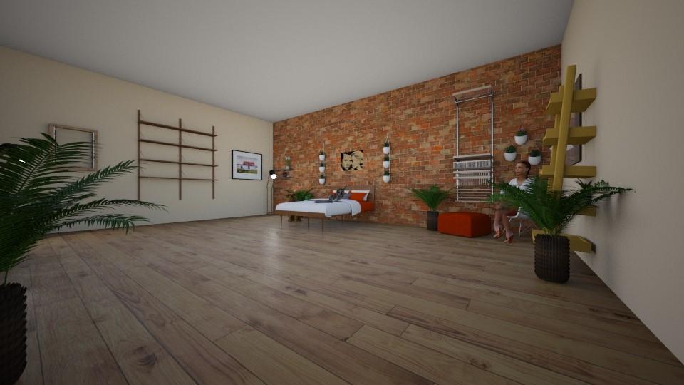 dream room assignment - Bedroom - by baileyLes