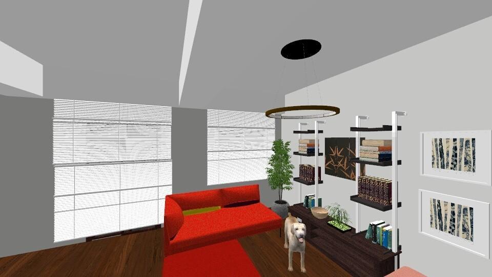 Postolache residence - Living room - by Ferchiumihaela