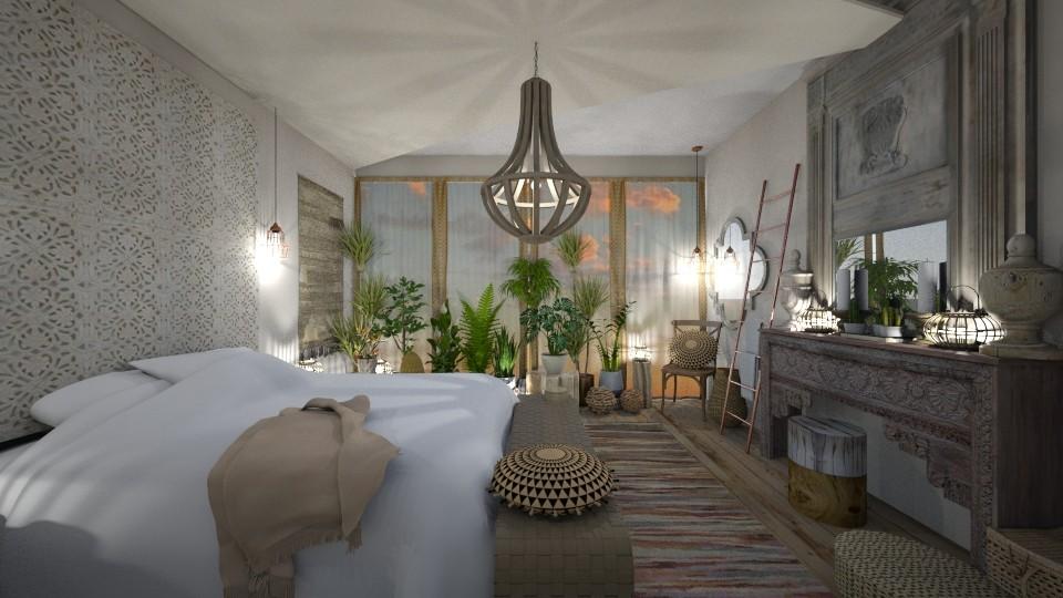 Master Bedroom - by camilla_saurus