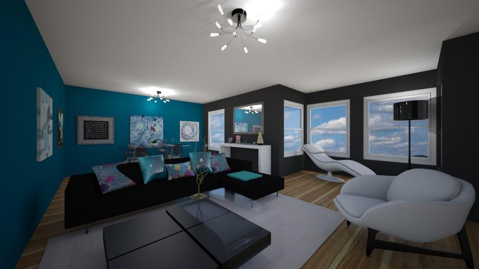 Living indie room - Minimal - Living room - by Iren89