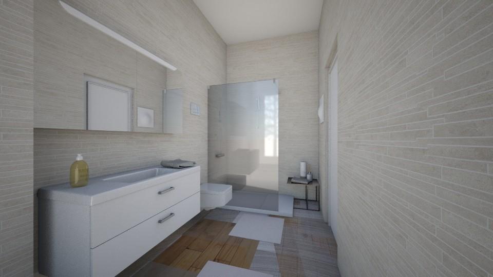little house  - Bathroom - by ELVI
