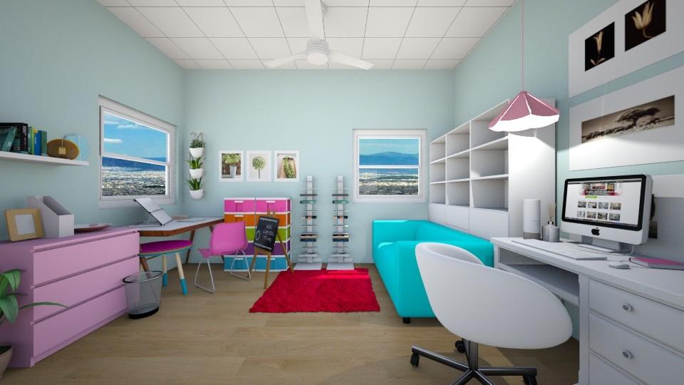 Art Atelier - Modern - Bedroom - by florci_02