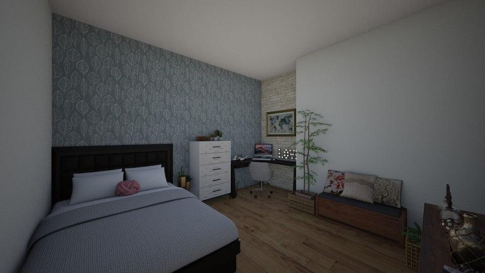 quarto de minina - Bedroom - by tete_architect