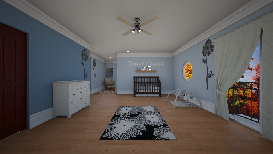 Valerie Elisabeth - Kids room - by Ellie Slinger