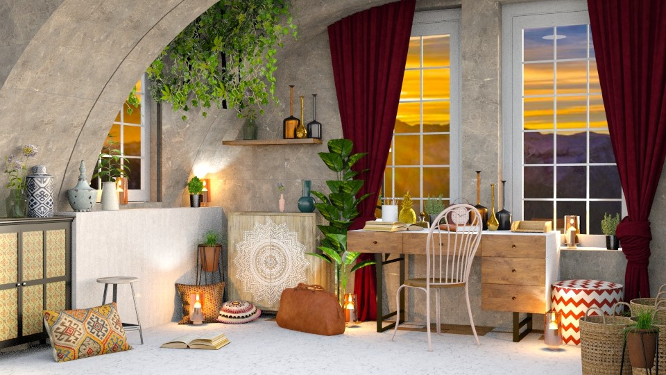 bohemian touch - Office - by TamarK