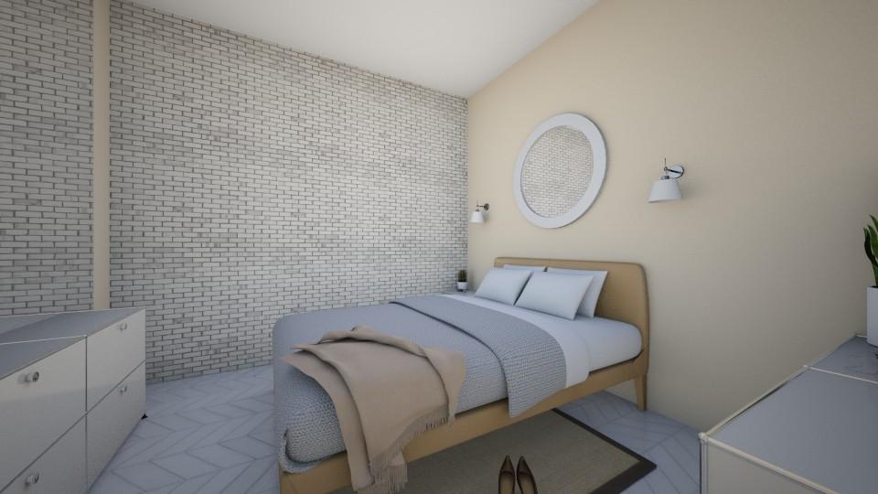 Crisp Living - Minimal - Bedroom - by PeaceLady13