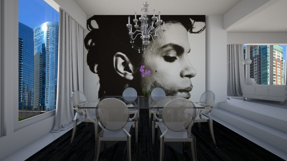 Dining with the Prince - Dining room - by janelle1