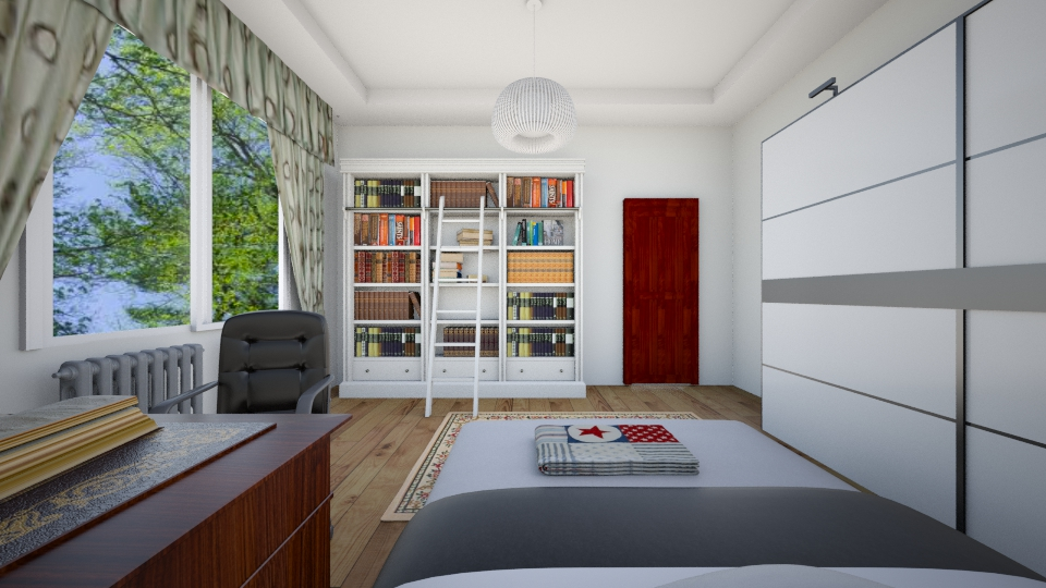 Sean bedroom - Modern - Bedroom - by sean_cui