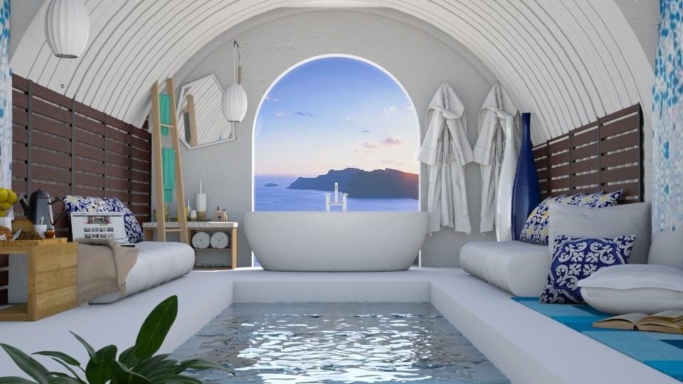 Santorini - by ayu DR