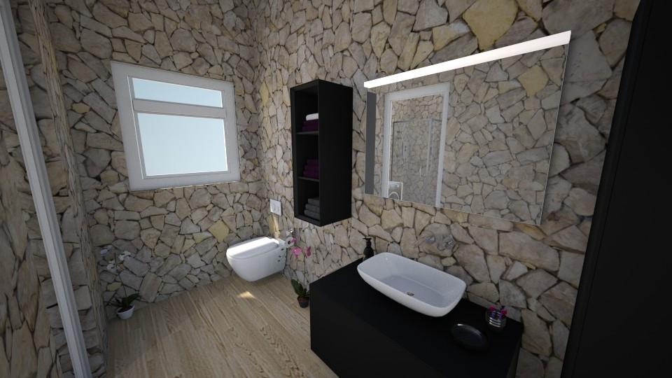 Apartemen4 - Bathroom - by Yuki Cu