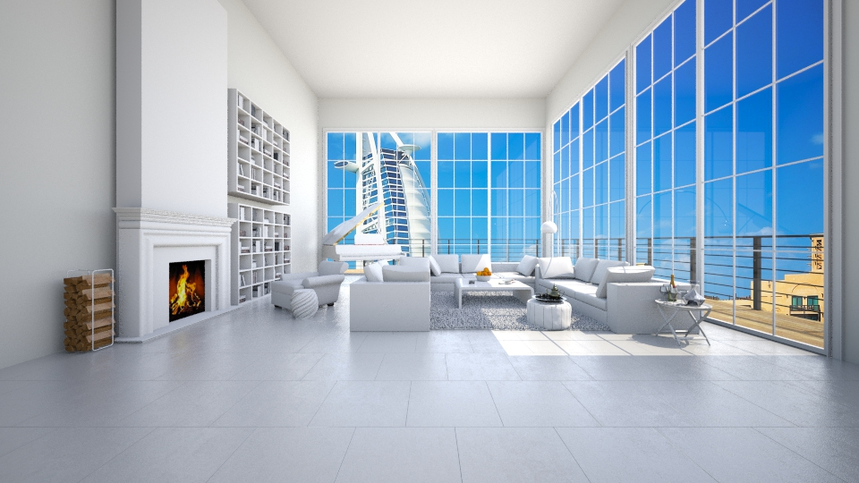 dubai penthouse - by Hajartjee