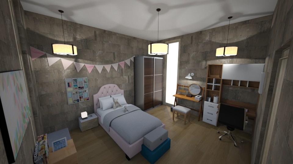 slaapkamer - by vanmelloemily