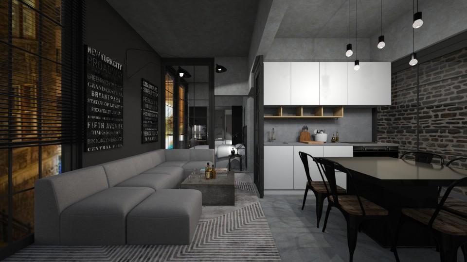 Casa240 - Modern - Living room - by nickynunes