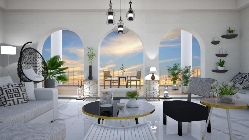 resort - Living room - by mari mar