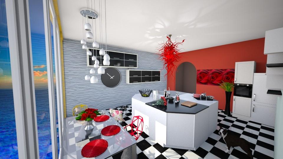 Cooking rose - Kitchen - by oldzi92