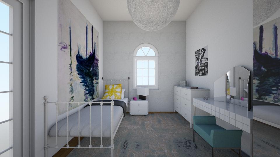 25 New Cross Road - Bedroom - by rachelbbridge