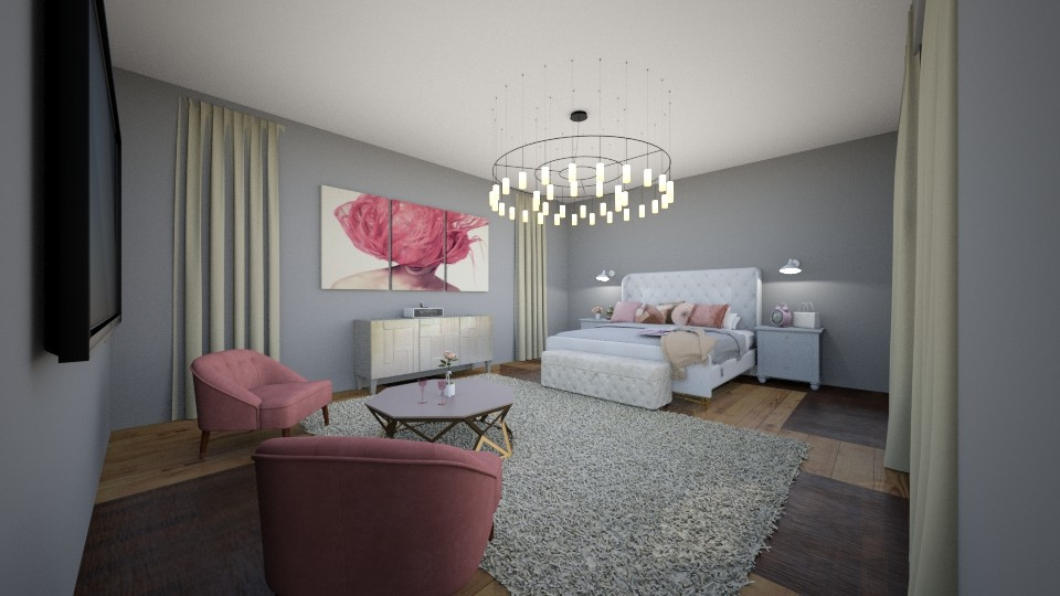rich room - Bedroom - by Mackenzie Kem