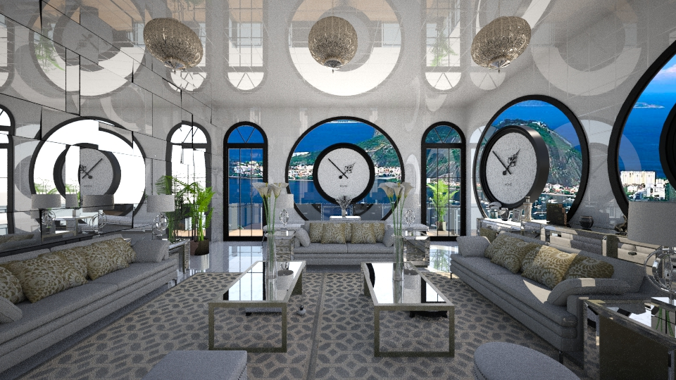 Sala do Relogio - Living room - by Maria Helena_215