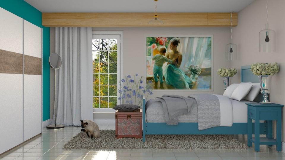 Quarto dela 3 - Bedroom - by Alecio
