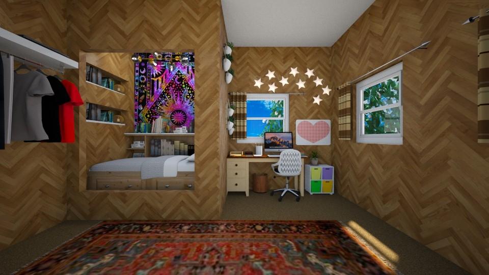 Hidey Hole - Bedroom - by ijustlikemakingfloorplans