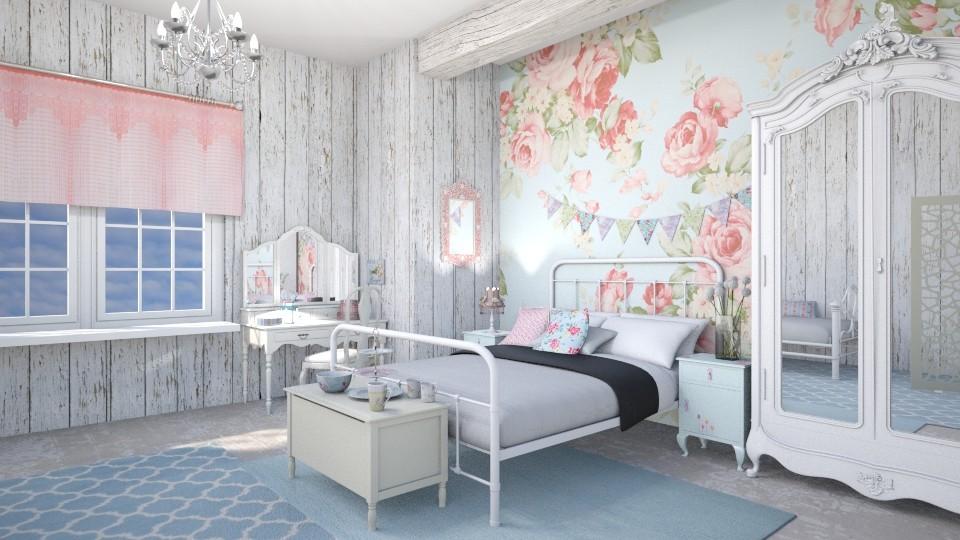 tuned farmhouse - Rustic - Bedroom - by jjannnii
