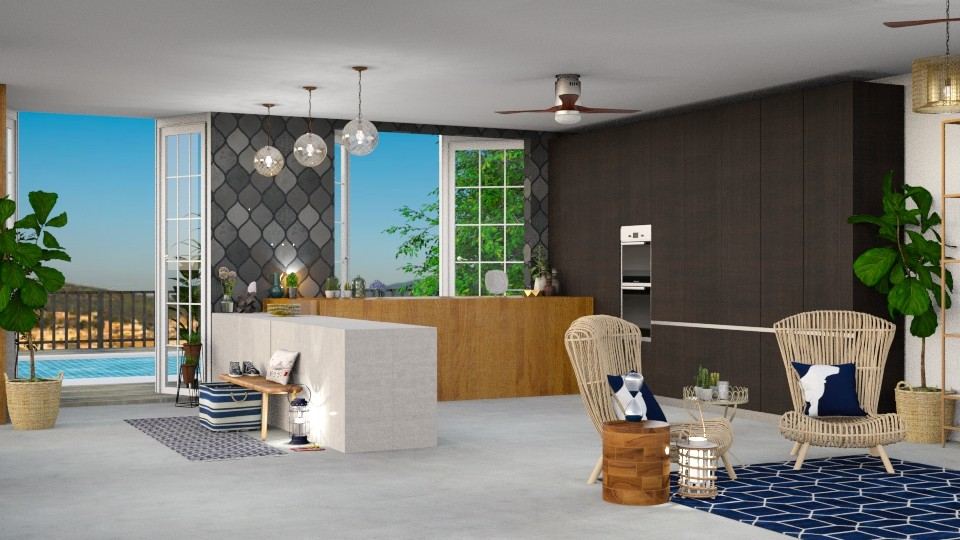 Summer Life  - Kitchen - by TamarK
