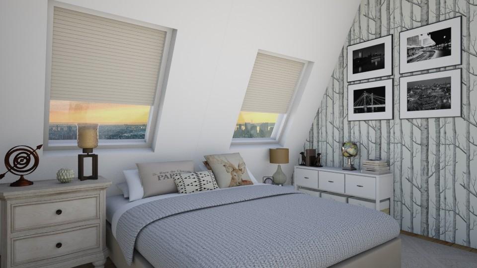 quarto NY - Bedroom - by Tainaraa