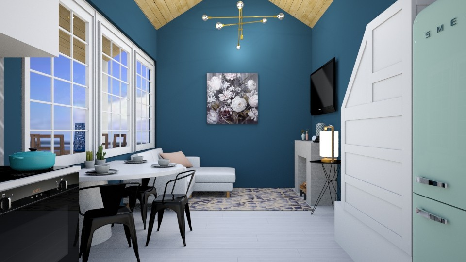 tiny house 056 - Living room - by Puppies44