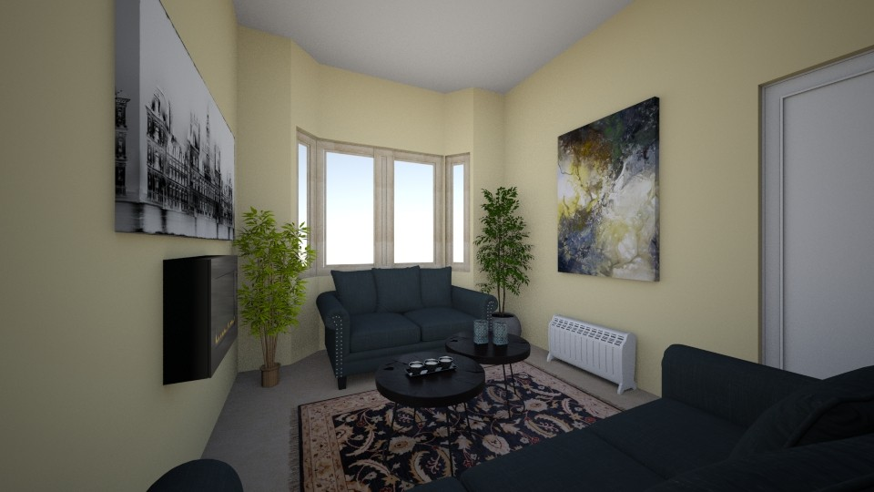 Show home project - Living room - by audreymora