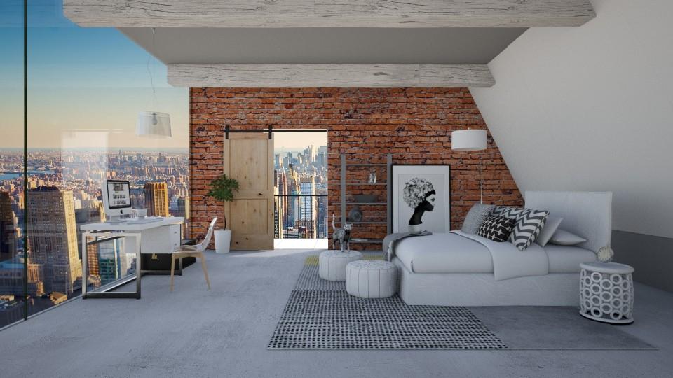 Industrial bedroom - by bgref