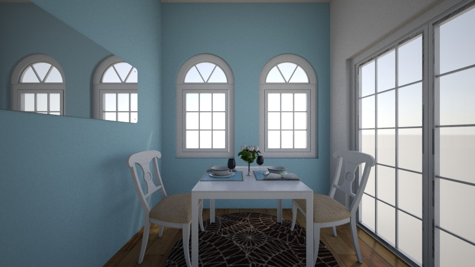 Small Dining Room Entry - Modern - Dining room - by WPM0825