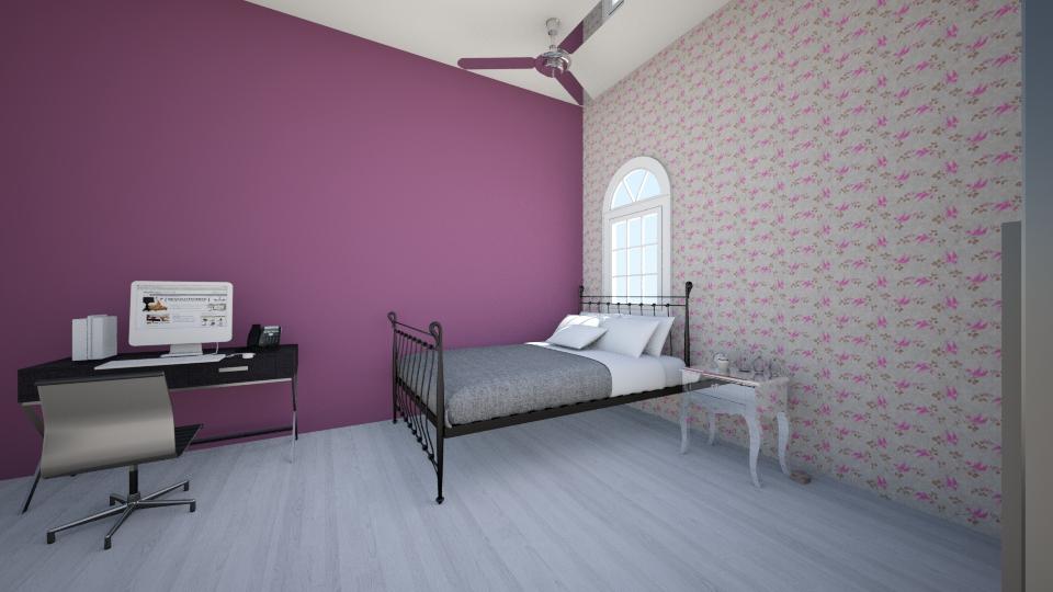 Meu Quarto  - Feminine - Bedroom - by BeckJu