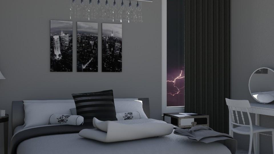 Simple Cute Bedroom - Bedroom - by KS81boff