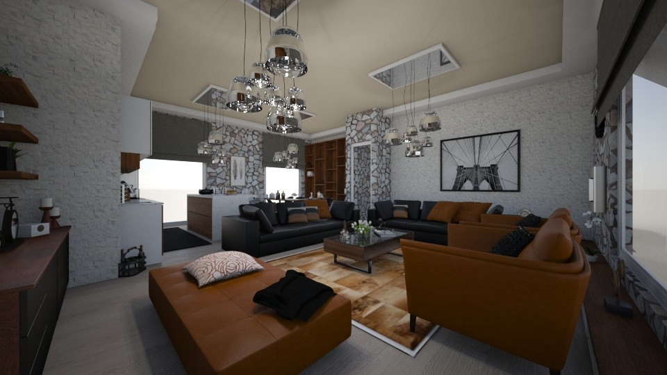 living room - Living room - by Vasiliki Stagkidou