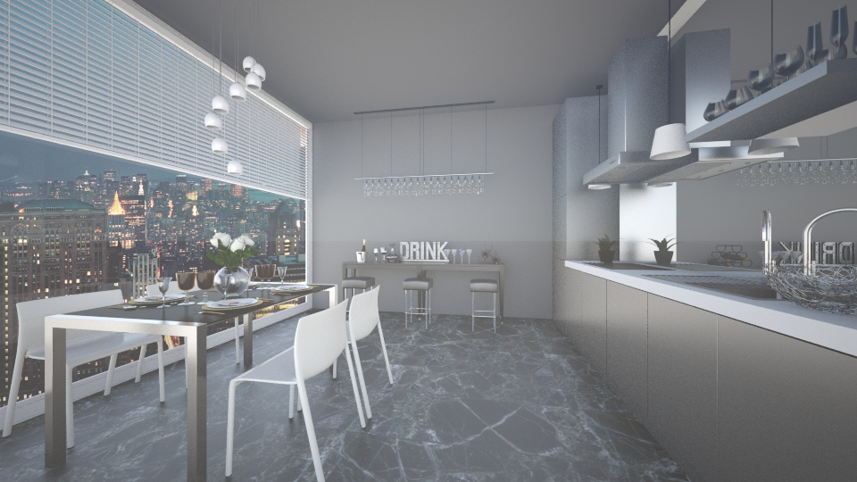 NYC Kitchen2 - Kitchen - by anamarija00