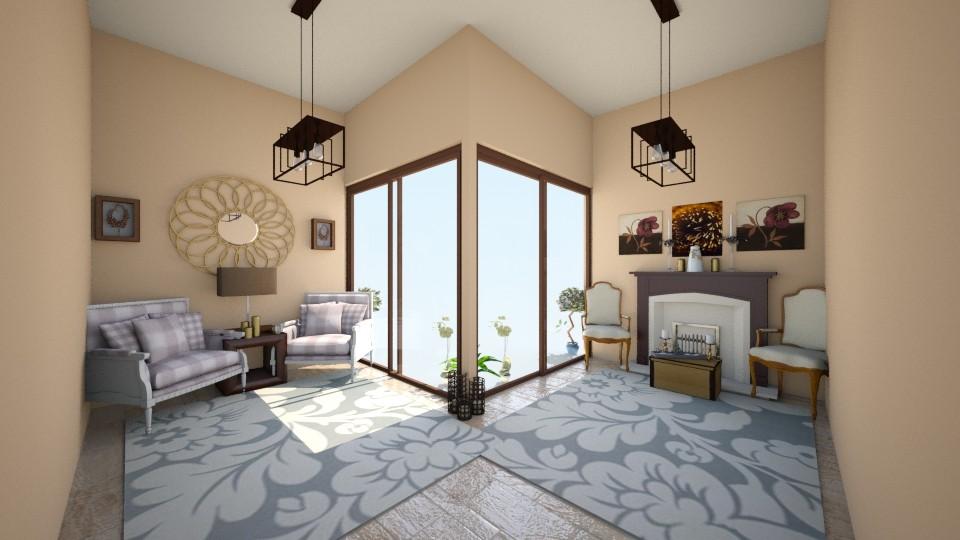 KiS Gegese - Living room - by zenaalomran
