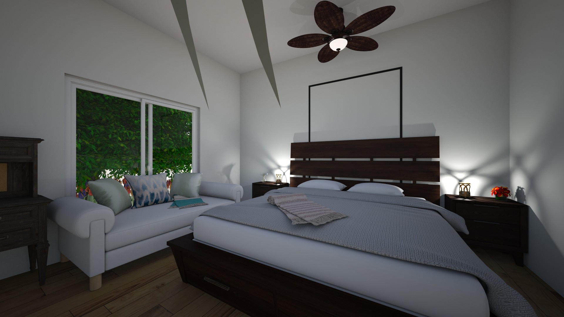 Room 4 - Bedroom - by Piper_M