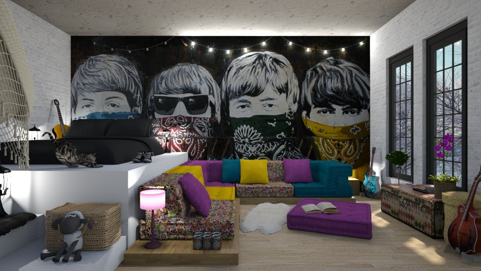 The beatles room - by rossella63