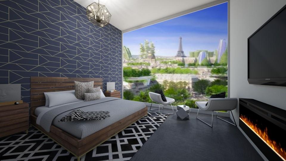 FACS 1 My Room - Modern - Bedroom - by GinnyGranger394